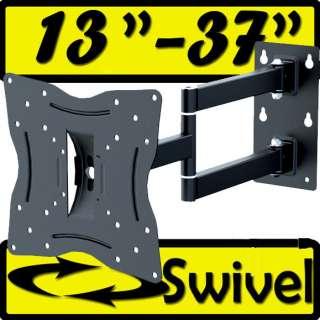 ARTICULATING Swivel Corner ARM TILT LCD LED TV Monitor WALL MOUNT 15