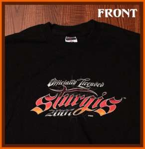 Sturgis Bike Week Motorcycle 2007 T Shirt L
