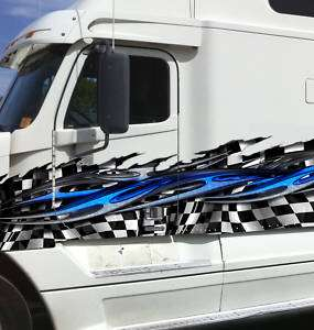 FULL COLOR TRAILER TRUCK CAR VINYL GRAPHICS DECAL 034