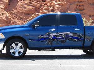 CAR VINYL GRAPHICS DRAGON FLAME DODGE RAM FORD 150 02 2