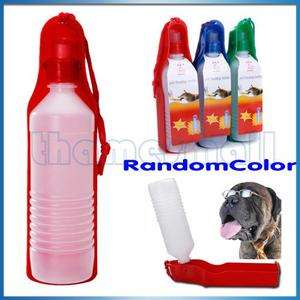 500ML Water Bottle Folding Travel Bowl Feeder Dog Cat