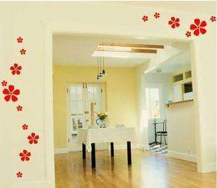 Cherry Blossom Flower Decor Mural Art Wall Sticker Decal S096 (various