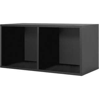 Modular Large Divided Black Cube Storage System