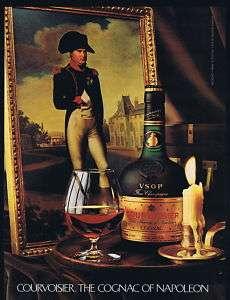 1982 Courvoisier VSOP Cognac Napoleon Bonaparte Ad
