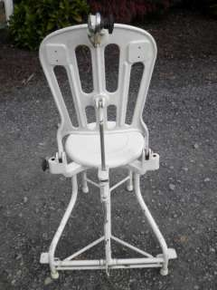 Antique Industrial Dental Medical doctor Tattoo Lounge Chair Iron