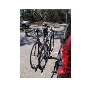 NEW 2 BICYCLE BIKE CARRIER RACK FITS 2 TRAILER HITCH A69