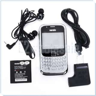 Versio Sunrise Dual SIM 2.2 Unlocked Cell Phone + Earphones + Adapter