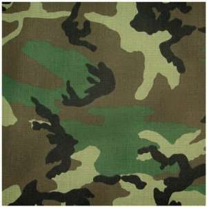 Slipcover for Twin Size E Frame in Camouflage   Deco Pleated   33 1413
