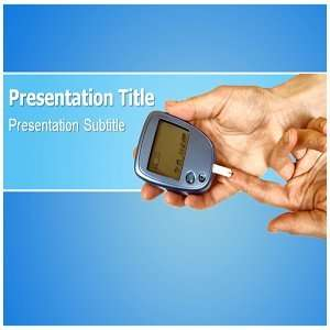 Template   Diabetes Check Powerpoint (PPT) Templates: Software