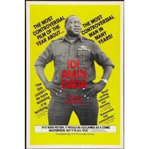 General Idi Amin Dada A Self Portrait (1974) 11 x 17 Movie Poster