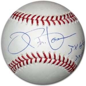 Joe Pepitone Autographed Baseball   with 3xAS3xGG Inscription