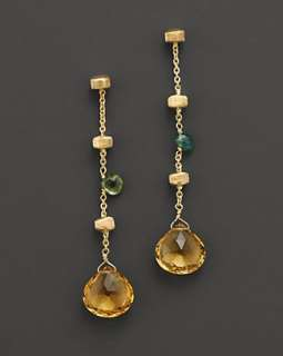 Marco Bicego Paradise Collection 18 Kt. Yellow Gold Earrings With
