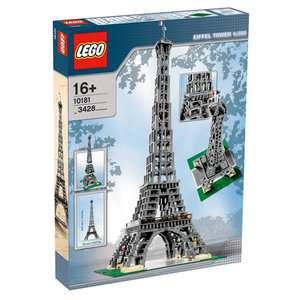 LEGO Eiffel Tower Building Blocks & Sets