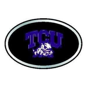 TCU Horned Frogs Color Auto Emblem Automotive