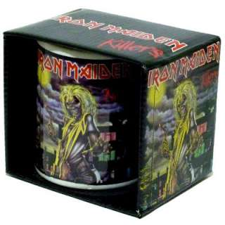 IRON MAIDEN Killers Official Ceramic COFFEE CUP MUG Boxed NEW