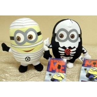 Me Skeleton Minion Doll and 6 Despicable Me Mummy Minion Doll