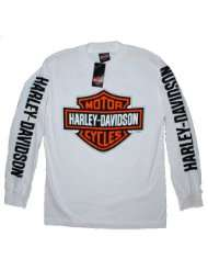 EDITION. All Cotton. Harley Davidson Graphics. White. 302900320
