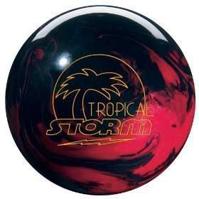 15# Tropical Storm Bowling Ball Red/Black NEW IN BOX