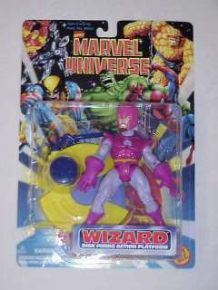 TOY BIZ MARVEL UNIVERSE FANTASTIC FOUR WIZARD FIGURE