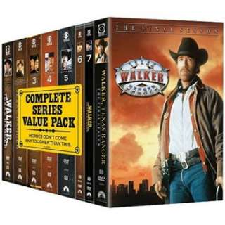 Walker Texas Ranger The Complete Series Pack 097360758443