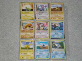 Complete Pokemon Majestic Dawn Base Set Leafeon Glaceon