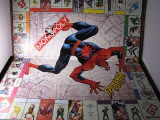 SPIDER MAN MONOPOLY COLLECTORS EDITION BOARD GAME