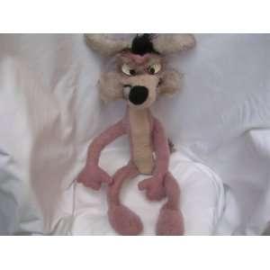 Wylie Coyote Plush Toy JUMBO 25 Collectible ; Warner Bros
