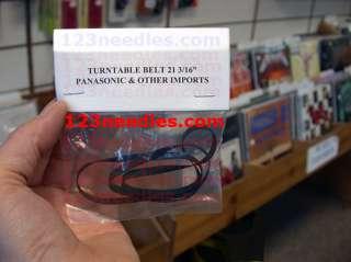 PANASONIC TECHNICS TURNTABLE DRIVE BELT 21 3/16