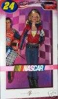 NEW JEFF GORDON NASCAR BARBIE ~ PINK LABEL (NRFB)