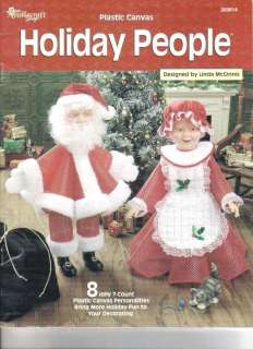 Holiday People Plastic Canvas Book ~ Halloween / Thanksgiving