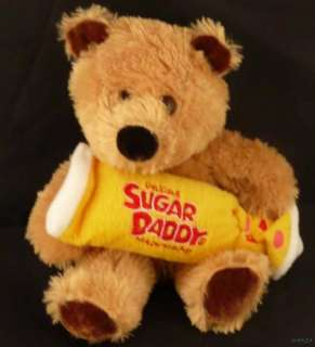 Sugar Daddy Caramel Pop Stuffed Plush Teddy Bear