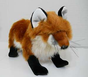 Folkmanis RED FOX Hand puppet full bodied