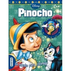 Pinocho. Un cuento para colorear. (9788444161013) DISNEY