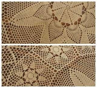 Filet Crochet Bedspread Patterns - Online Crochet Instruction