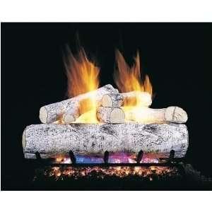 Peterson Gas Logs 30 Inch White Birch Vented Propane Gas