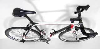 STRADALLI SRAM RED BLACK CARBON ROAD BIKE BICYCLE 54 cm