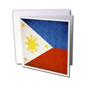 Flags   Philippines Flag   Greeting Cards 6 Greeting Cards