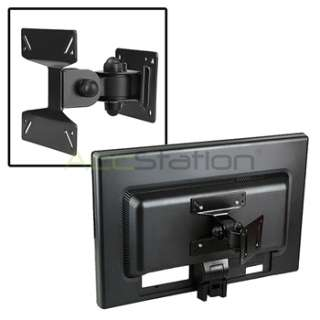 tv lcd tilt swivel black wall mount bracket 21 22 23 24 for universal