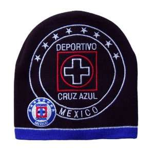 Cruz Azul Beanie Mexico Soccer   Cuffless: Sports