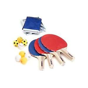 Sportcraft 4 Player Table Tennis Set