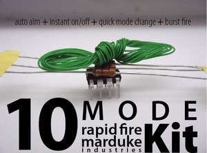 Mode xBox 360 Rapid Fire Mod Chip Turbo Kit COD MW3, GOW3 Gears of War